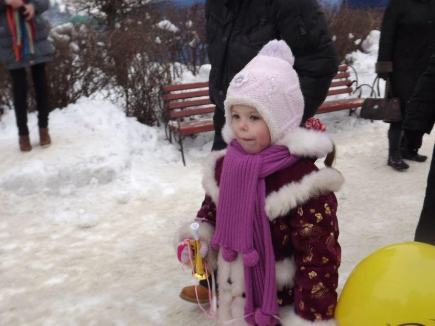 На Святі зими у Тернополі квадроцикл перевернувся на очах у дітей (відео, фоторепортаж), фото-7