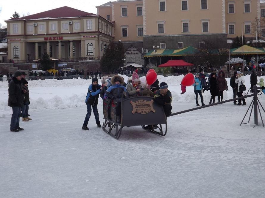 На Святі зими у Тернополі квадроцикл перевернувся на очах у дітей (відео, фоторепортаж), фото-21