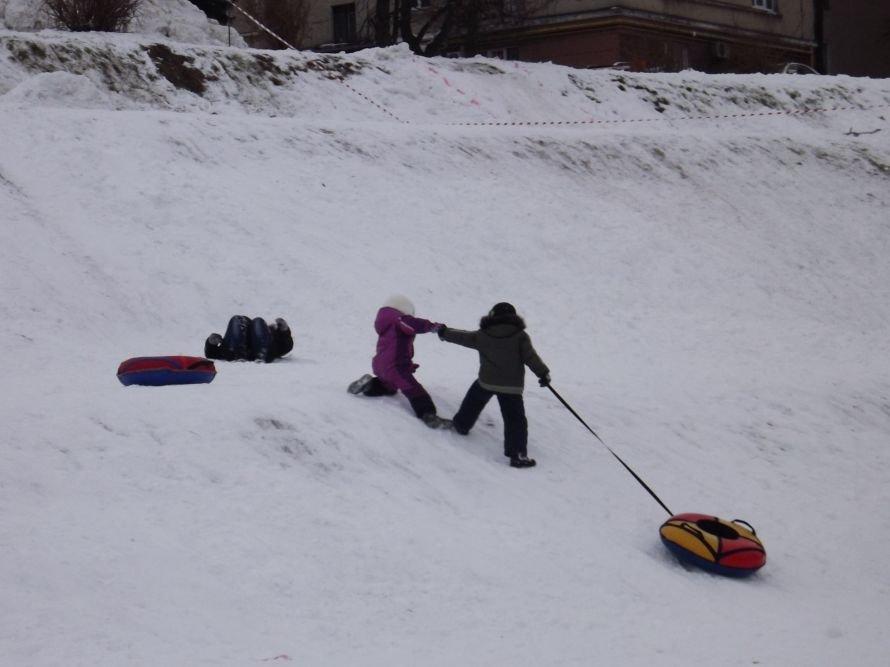 На Святі зими у Тернополі квадроцикл перевернувся на очах у дітей (відео, фоторепортаж), фото-5