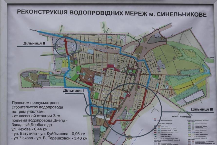Днепропетровский губернатор напоил синельниковцев водой (ФОТО), фото-1
