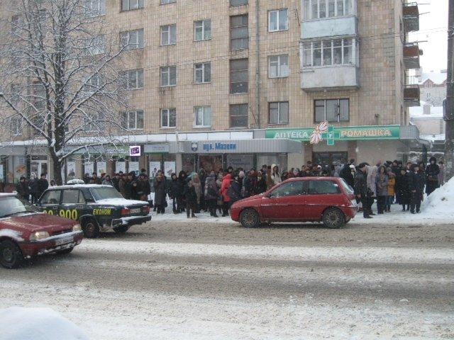 Сьогодні тернополянам не пощастило з громадським транспортом (фото, відео), фото-1