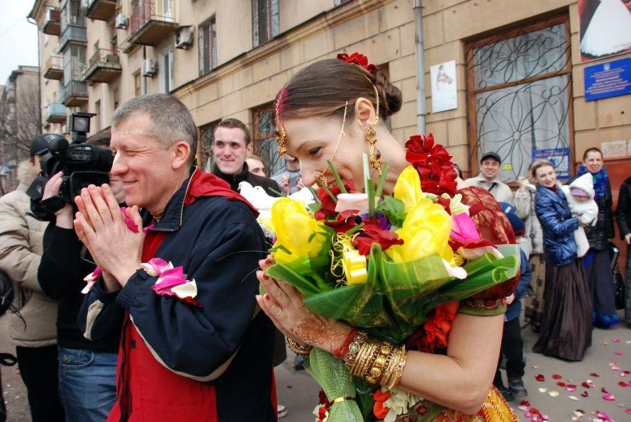 В Мариуполе сыграли  ведическую свадьбу (Фотофакт), фото-5