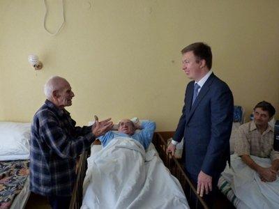 Андрій Ніколаєнко проінспектував роботу обласного госпіталю для інвалідів Великої Вітчизняної війни, фото-1