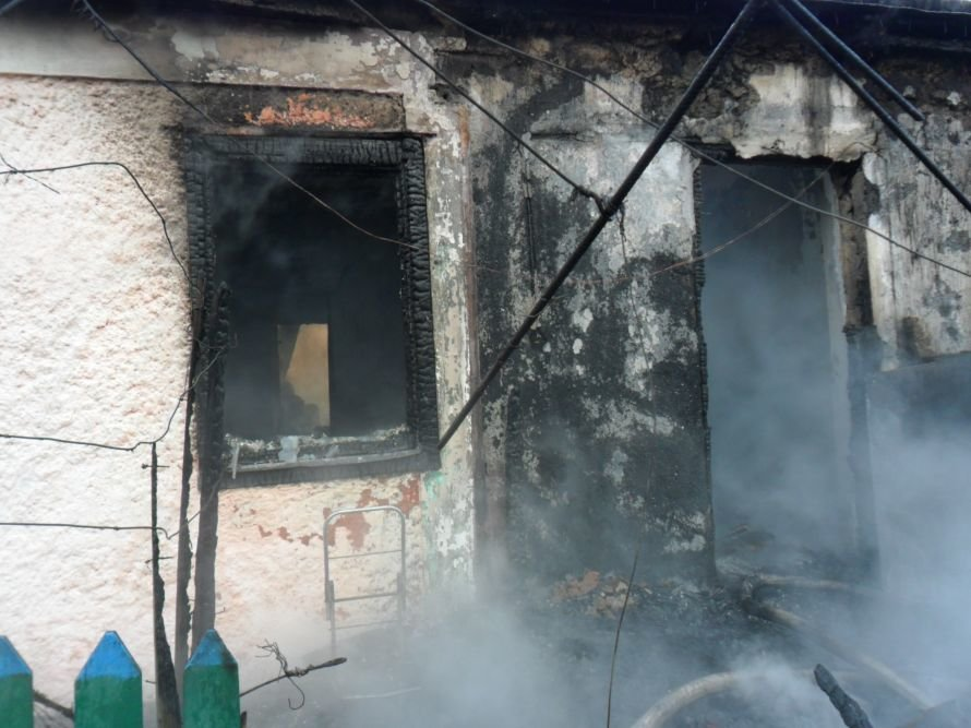 На выходных в Кировоградской области на пожарах погибли двое мужчин, фото-1