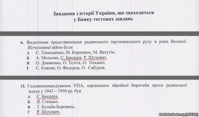 Прізвища шанованих тернополянами героїв таки є в тестах ЗНО (фото), фото-1