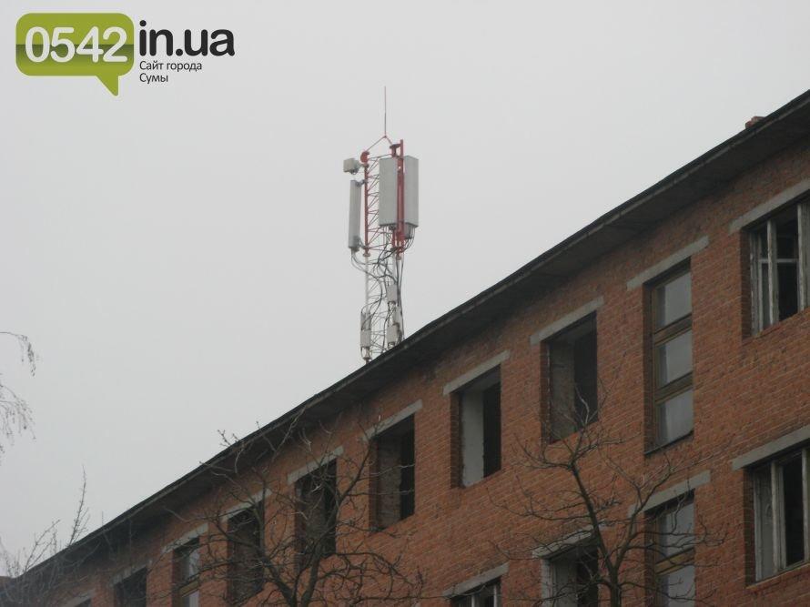 Сумчане жалуются на  соседство с вышкой сотовой связи, фото-1