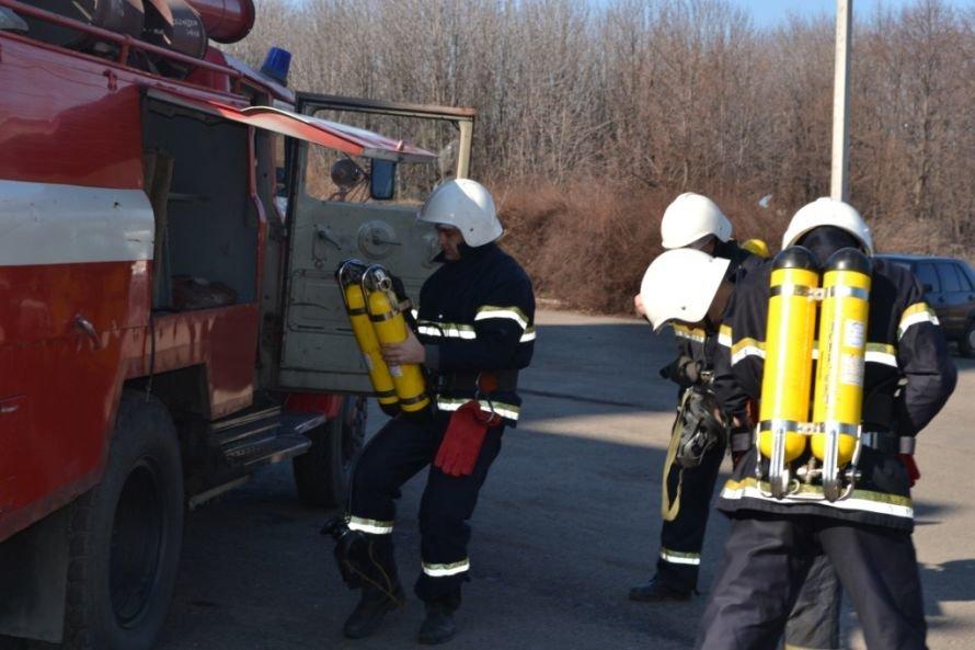 В Кривом Роге тушили «пожар» в ДК «СевГОКа» (ФОТО), фото-4