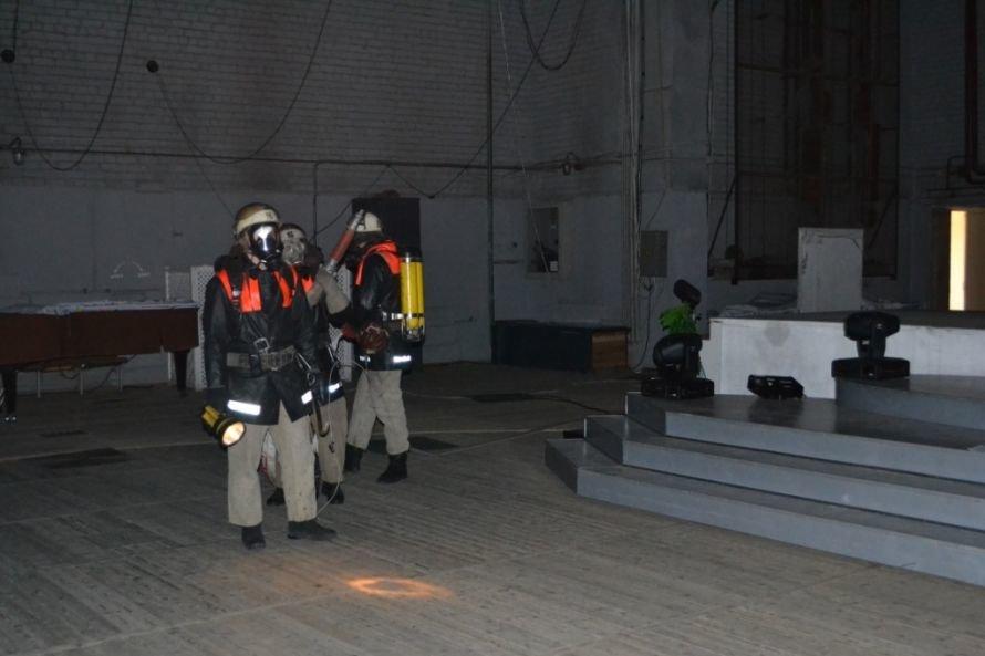 В Кривом Роге тушили «пожар» в ДК «СевГОКа» (ФОТО), фото-10