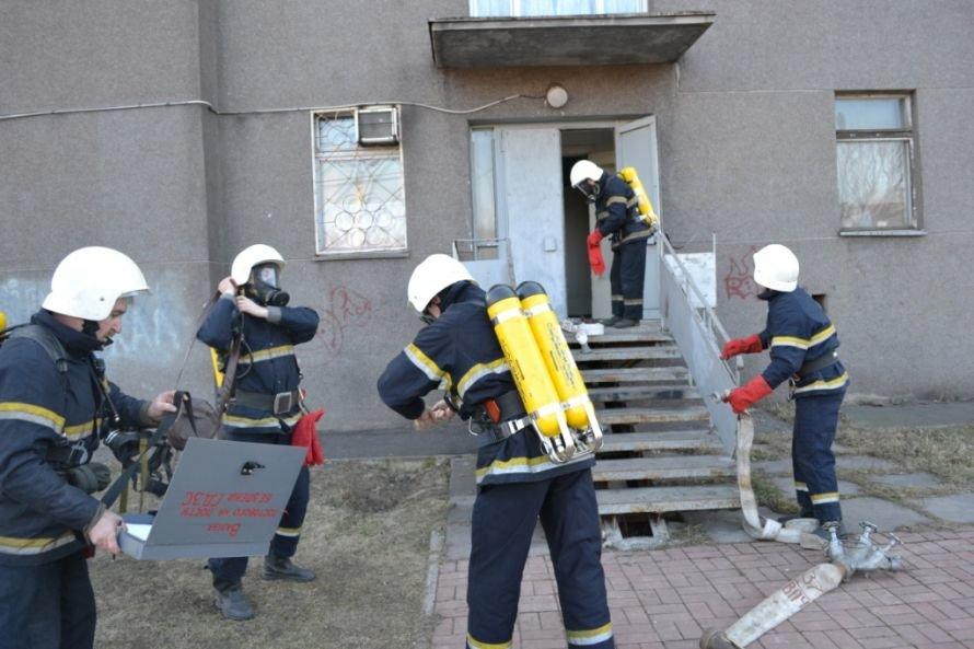 В Кривом Роге тушили «пожар» в ДК «СевГОКа» (ФОТО), фото-5