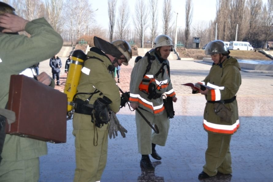 В Кривом Роге тушили «пожар» в ДК «СевГОКа» (ФОТО), фото-11
