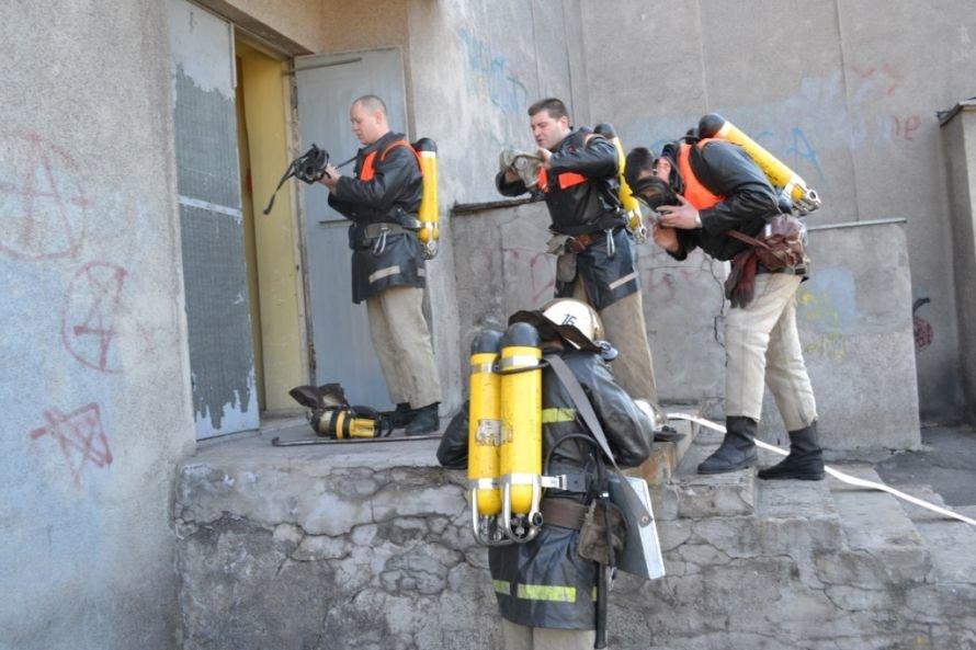 В Кривом Роге тушили «пожар» в ДК «СевГОКа» (ФОТО), фото-8