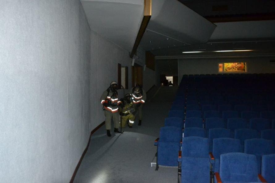 В Кривом Роге тушили «пожар» в ДК «СевГОКа» (ФОТО), фото-14
