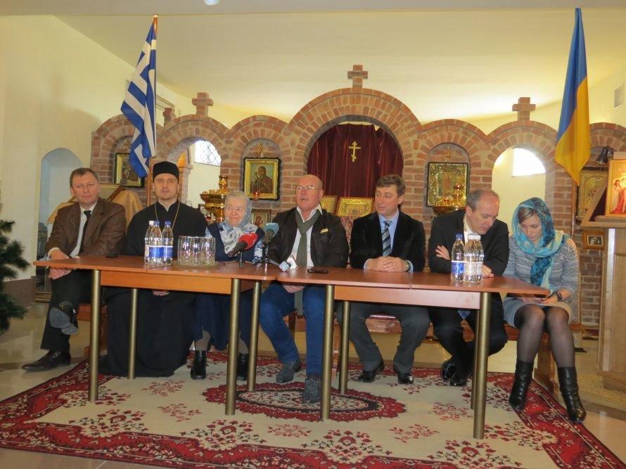 Под Мариуполем известный бизнесмен Николай Агурбаш принял участие  в освящении строительства колокольни (ФОТО), фото-3