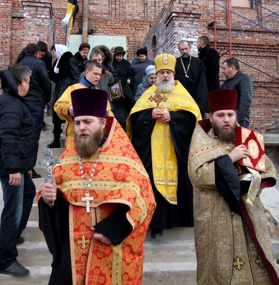 В Донецке на крестном ходе, посвященном 400-летию Дома Романовых, просили прощение «за ношение жидомасонской символики» (фото, видео), фото-3