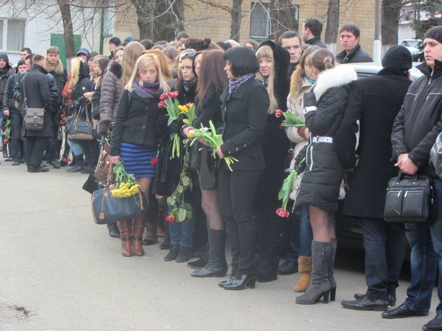 В Днепропетровске попрощались с погибшим студентом-медиком (Обновлено), фото-2