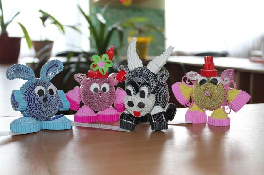 Артемовские школьники смастерили «Город оригами», фото-1