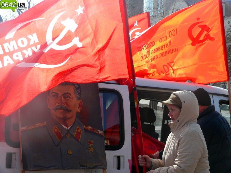 «Сало можете сожрать, а вот Сталин вам не по зубам!» (ФОТО, ВИДЕО), фото-3