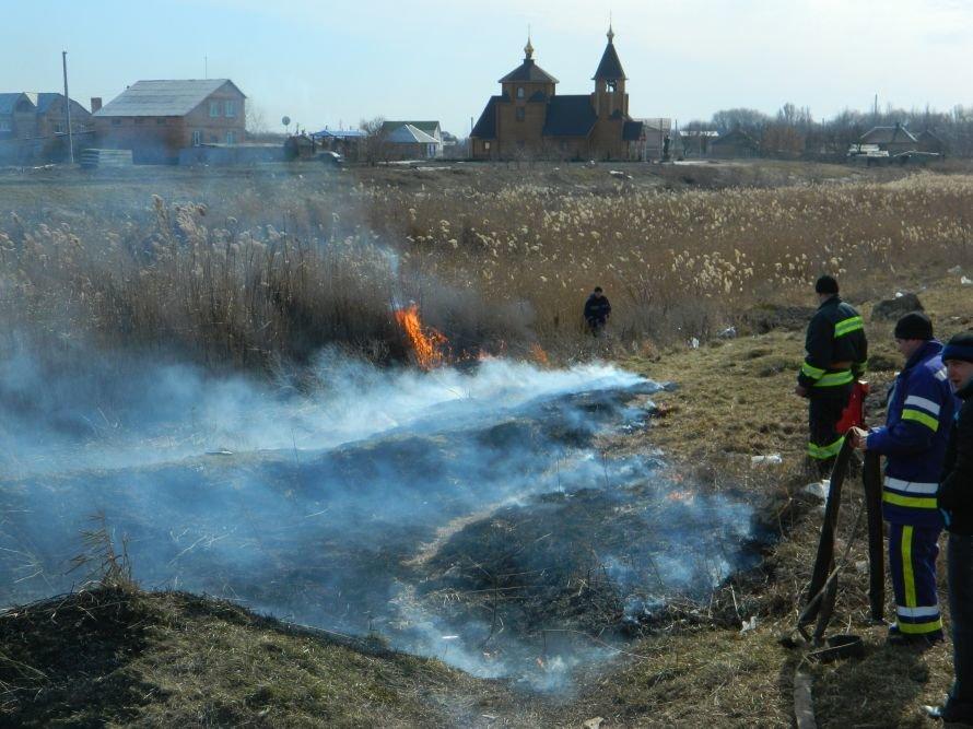 Артемовская набережная горела синим пламенем, фото-1