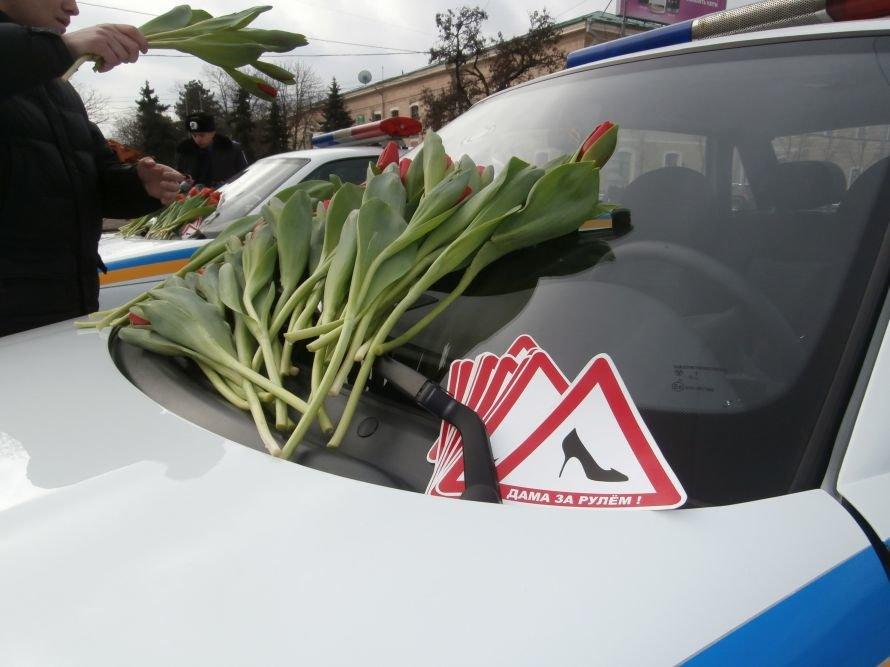 картинки цветов для водителей полосатые обои