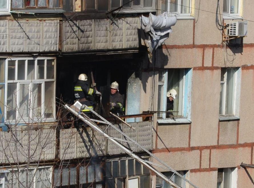 Сегодня в Кировограде горела квартира на 5-м этаже (Фото), фото-1