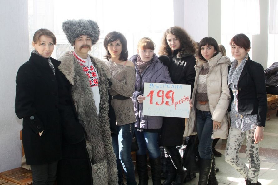 К луганским студентам на пары пришел Тарас Шевченко (ФОТО), фото-1