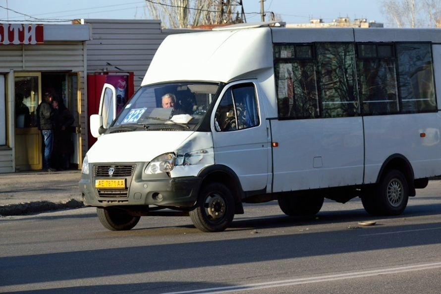 В Кривом Роге еще один водитель маршрутки попал в аварию (ФОТО), фото-4