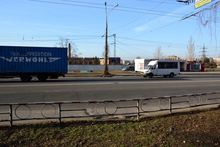 В Кривом Роге еще один водитель маршрутки попал в аварию (ФОТО), фото-3