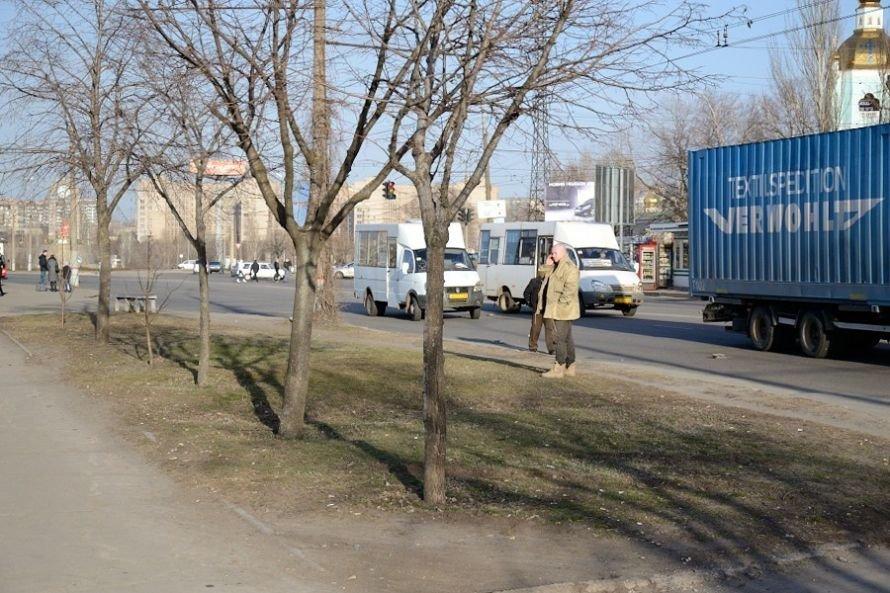 В Кривом Роге еще один водитель маршрутки попал в аварию (ФОТО), фото-1