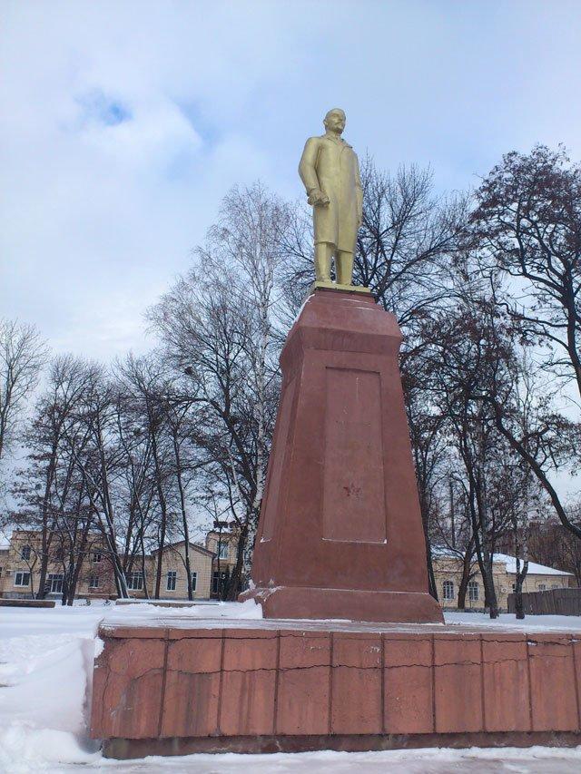 На Сумщине установили «двойника» Ленина, фото-2