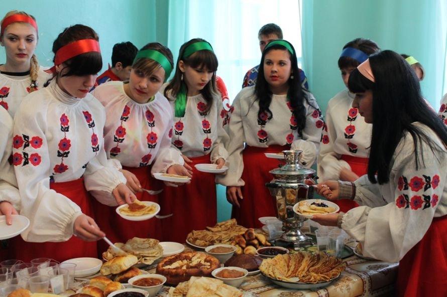 Артемовские студенты и ветераны вместе отметили масленицу, фото-7