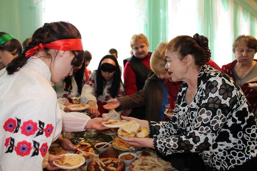 Артемовские студенты и ветераны вместе отметили масленицу, фото-8