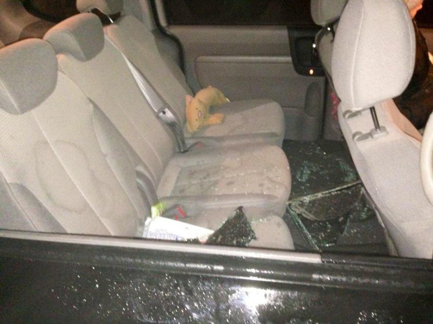 Депутату облсовета Виктории Шиловой разбили машину и угрожали по мобильному телефону (ФОТО), фото-1