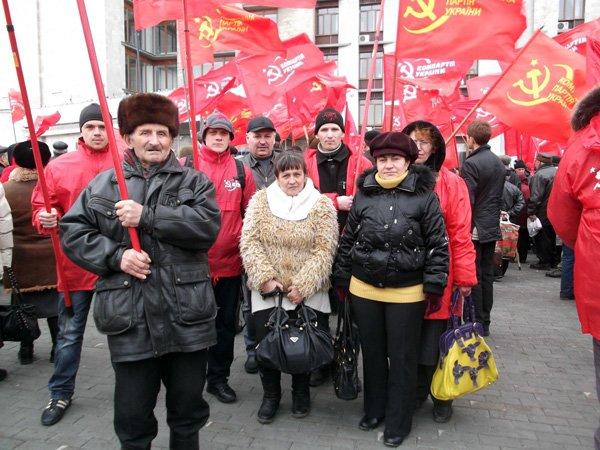 Горловские коммунисты требовали в Донецке пресечь вылазки экстремистов «Свободы», фото-5
