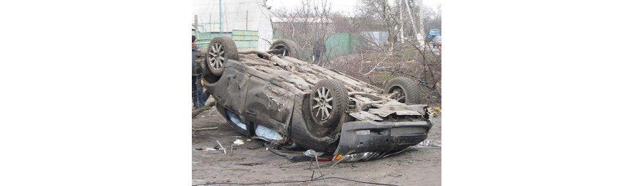 В Бердянске автомобиль снес опору электропередач, более 100 домов остались без света (ФОТО), фото-1