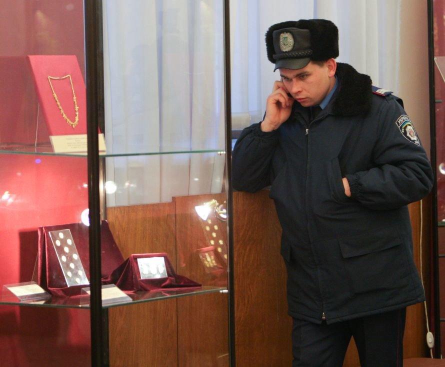 Золото скифов в Днепропетровске охраняют «буйные» милиционеры (ОБНОВЛЕНО), фото-1
