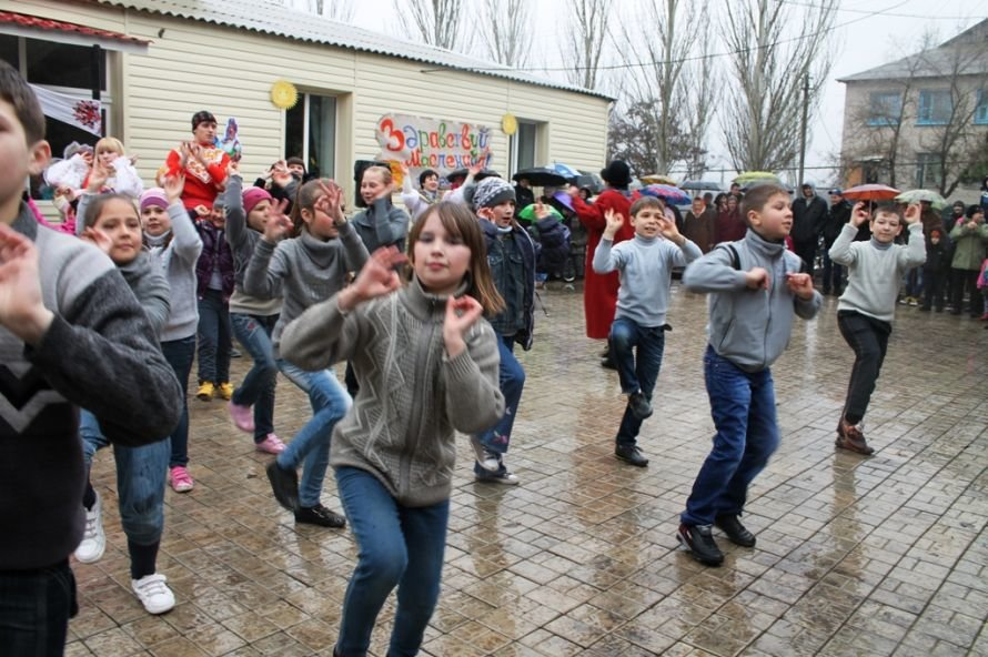 В одном из сел Артемовского района устроили флешмоб Gangnam Style (ФОТОРЕПОРТАЖ), фото-4