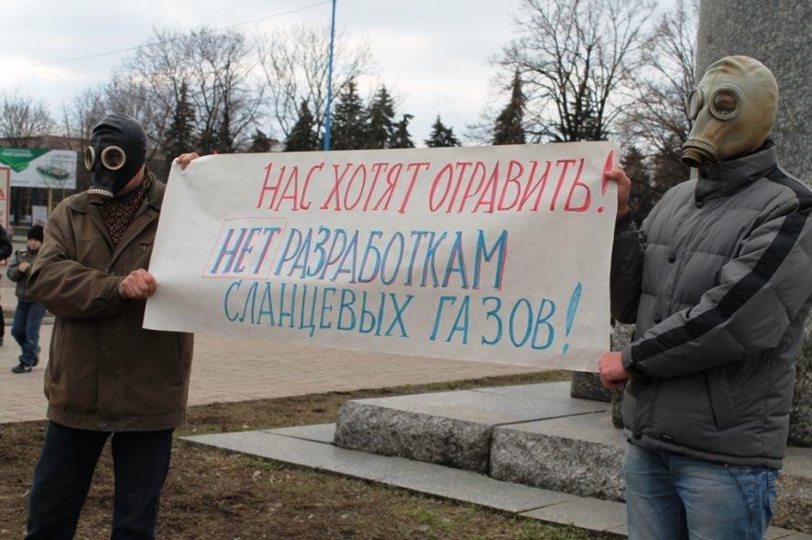 Митинг против добычи сланцевого газа в Артемовском районе: депутатов назвали предателями, Януковича - тоже (ВИДЕО + ФОТО), фото-1