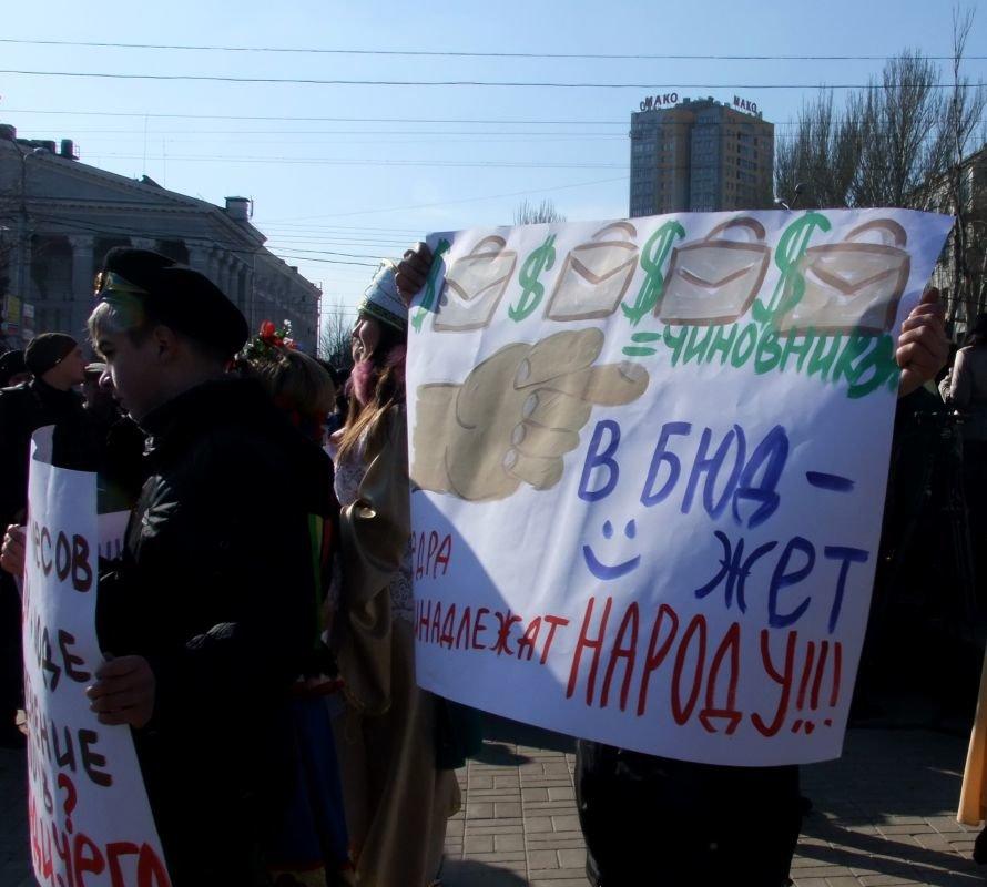 В центре Донецка протестовали против добычи сланцевого газа (фото, видео), фото-5