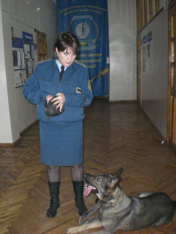 Днепропетровская «таможенная» овчарка нашла у студентов-журналистов «наркотики», фото-1