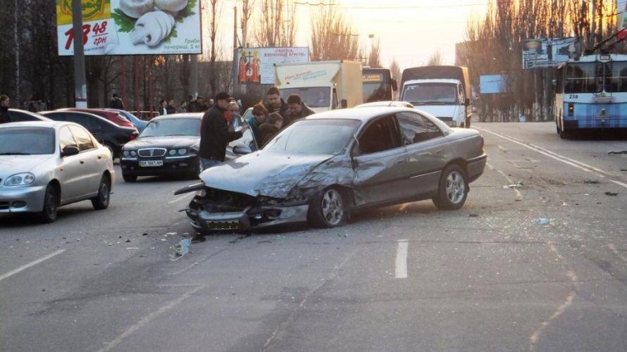 Кировоград: масштабное ДТП на Полтавской (фото, видео), фото-1
