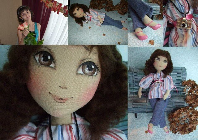 Донецкая художница создает кукольные двойники людей, фото-1