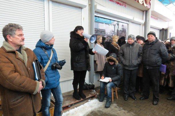 Підприємці «Варшавки» на чолі з депутатами готуються до мітингу (ВІДЕО, ФОТО), фото-3