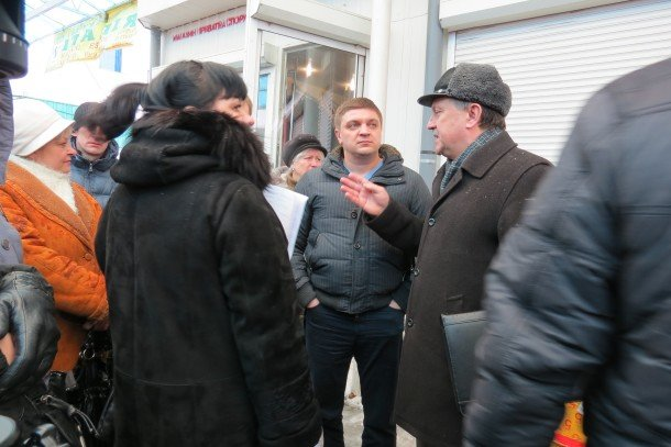 Підприємці «Варшавки» на чолі з депутатами готуються до мітингу (ВІДЕО, ФОТО), фото-5