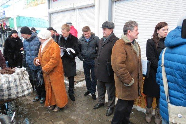 Підприємці «Варшавки» на чолі з депутатами готуються до мітингу (ВІДЕО, ФОТО), фото-4