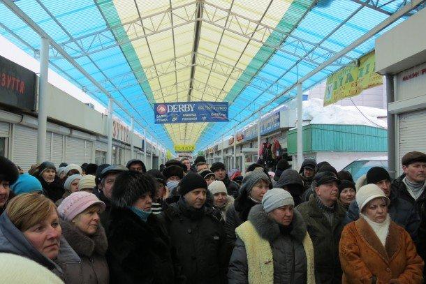 Підприємці «Варшавки» на чолі з депутатами готуються до мітингу (ВІДЕО, ФОТО), фото-1