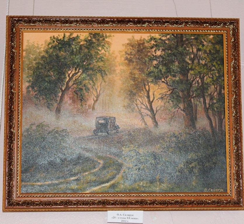 В Артемовском музее открылась выставка «В стиле старых мастеров», фото-8
