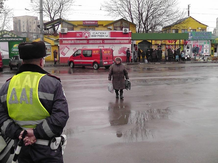 Кировоградские работники ГАИ отлавливали пешеходов нарушителей (фото), фото-1