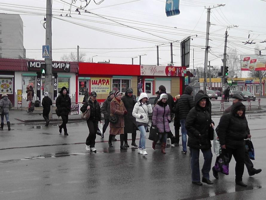 Кировоградские работники ГАИ отлавливали пешеходов нарушителей (фото), фото-3