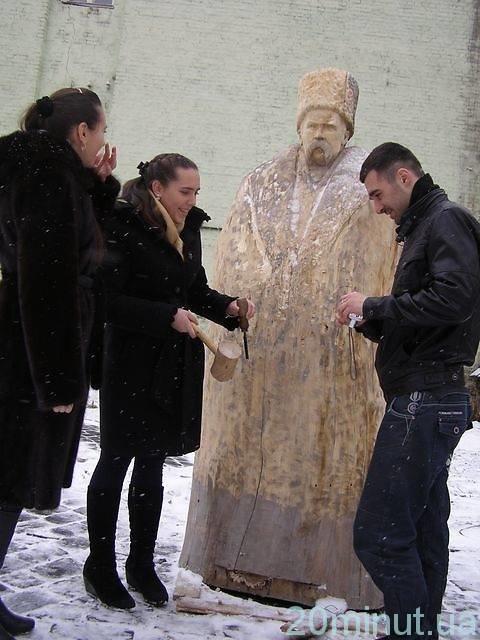 деревянный Шевченко