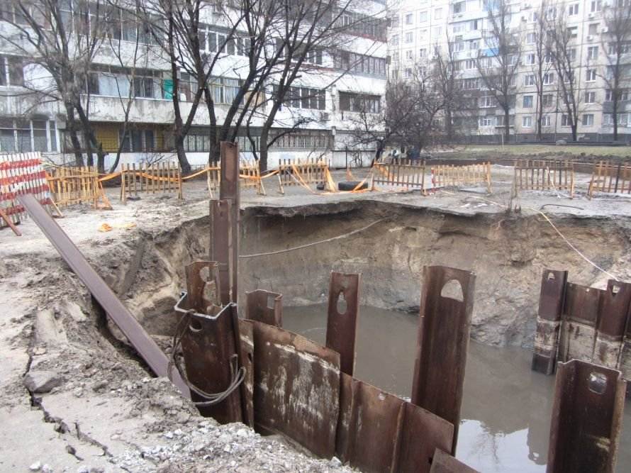 Днепропетровцам рассказали, что власти сделали для ликвидации аварии на улице Калиновой, фото-1